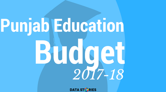 Punjab Education Budget 2017 18 At A Glance Data Stories