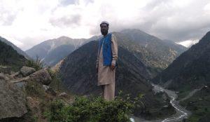 Hafeez ur Rehman at his village, Kandia, Kohistan.
